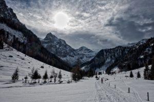 piste in skigebied Flachau