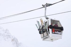 Skilift gondel