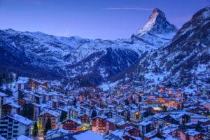 Ski dorp Saalbach